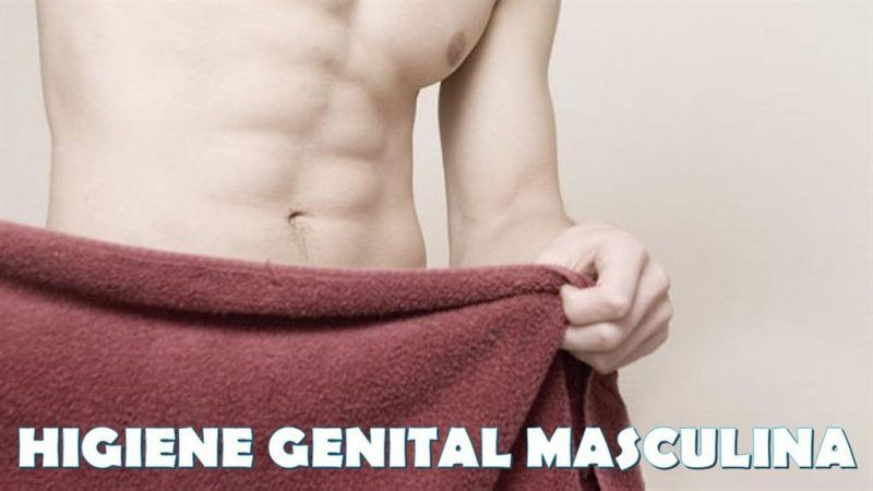 Higiene genital masculina